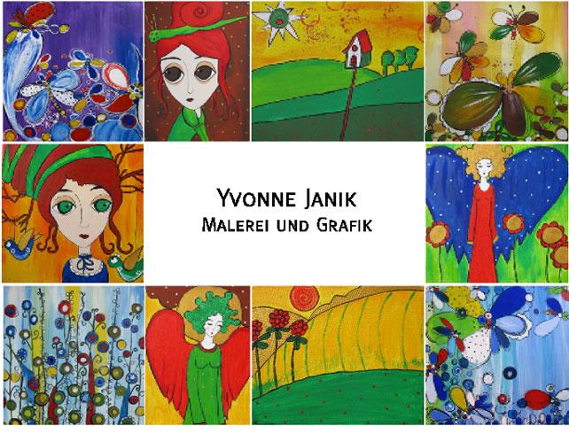 Malerei und Grafik von Yvonne Janik